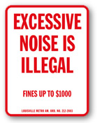 Louisville Noise Ordinance